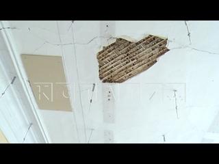 В Арзамасской школе обрушился потолок - родители были в ш...