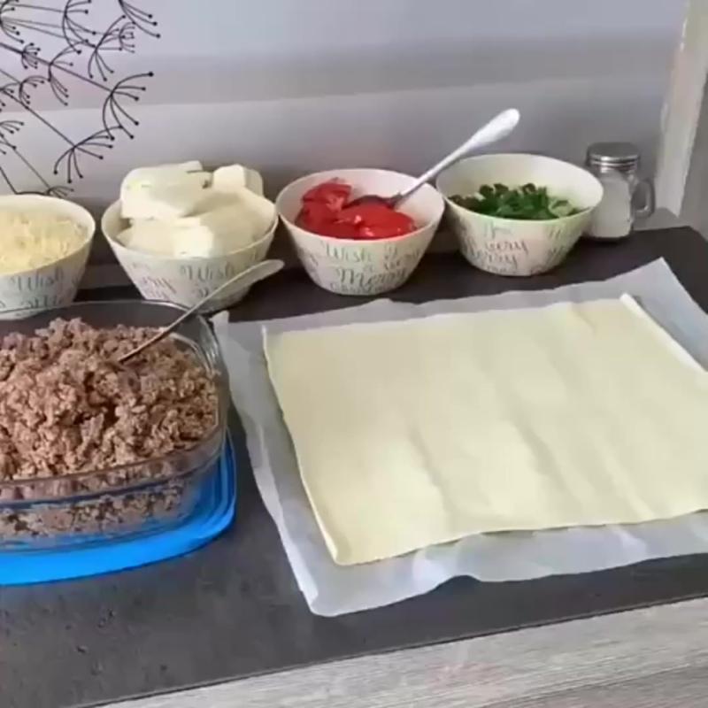 Пирог из того, что всегда есть в холодильнике