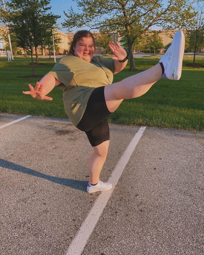 Балерина, которая верит в свою мечту и не сдаётся!